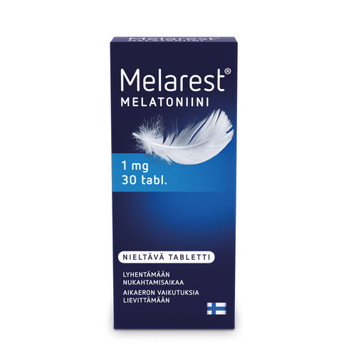 MELAREST 1 mg melatoniini 30 tablettia
