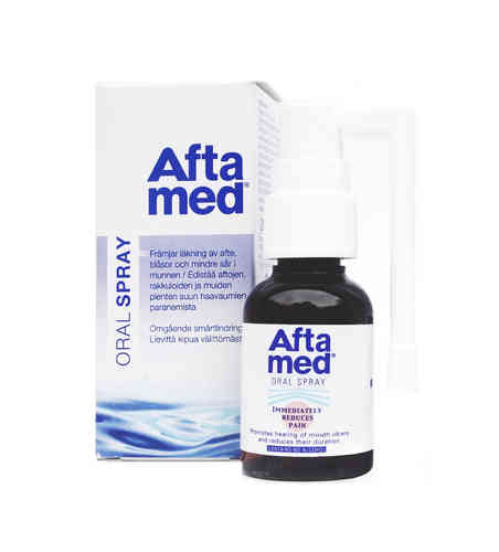 AFTAMED spray aftojen hoitoon 20 ml *