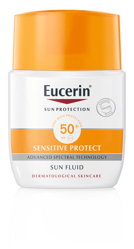 EUCERIN SENSITIVE PROTECT SUN FLUID FACE AURINKOVOIDE SK 50+ 50 ML