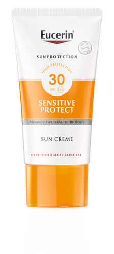 EUCERIN SENSITIVE PROTECT SUN CREAM FACE SPF 30 aurinkovoide kasvoille 50 ml