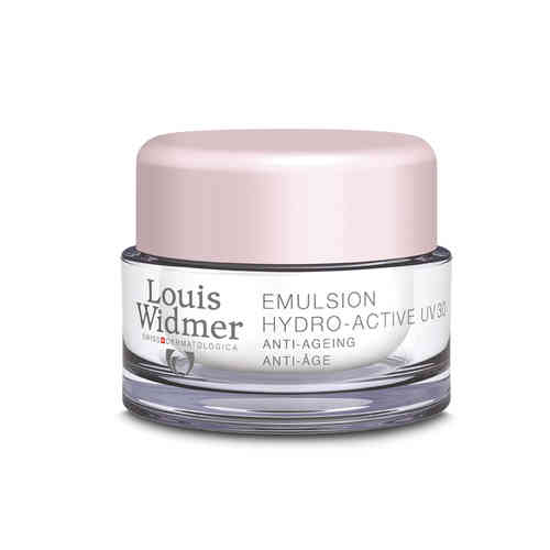 LOUIS WIDMER EMULSION HYDRO-ACTIVE UV 30 kosteusemulsio 50 ml