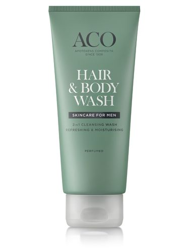 ACO FOR MEN HAIR and BODY WASH vartalo- ja suihkugeeli 200 ml
