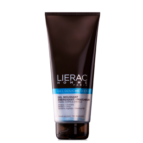 LIERAC HOMME SHOWER GEL 3-in-1 suihkugeeli 200 ml