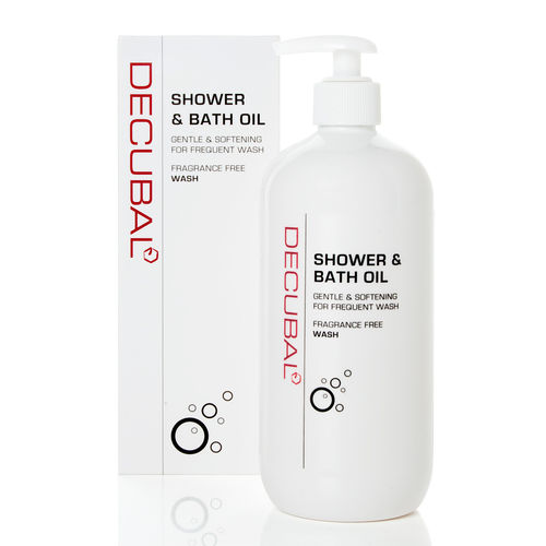 DECUBAL SHOWER and BATH OIL suihkuöljy 500 ml