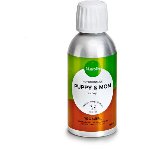 NUTROLIN PUPPY & MOM ravintoöljy pennuille ja emoille 150 ml