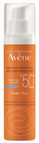 AVENE VERY HIGH PROTECTION FLUID SUN CARE SPF 50+ aurinkovoide 50 ml