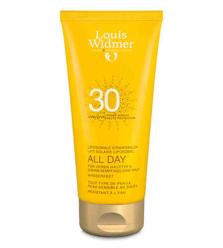 LOUIS WIDMER SUN ALL DAY aurinkovoide SK 30 100 ml