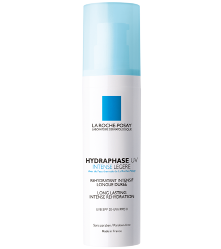 LA ROCHE-POSAY HYDRAPHASE UV INTENSE LIGHT SPF 20 kevyt kosteusvoide 50 ml
