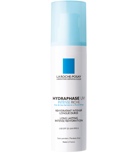 LA ROCHE-POSAY HYDRAPHASE UV INTENSE RICH SPF 20 kosteusvoide 50 ml