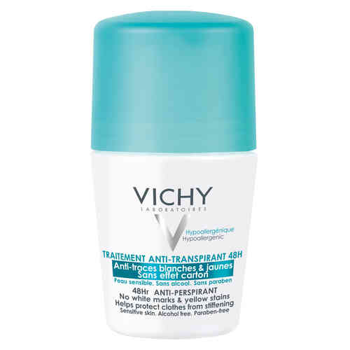 VICHY DEO 48h tahraamaton antiperspirantti roll-on 50 ml hajustettu