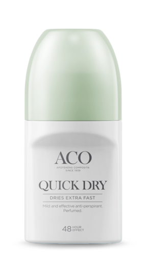 * * ACO DEO QUICK DRY antiperspirantti 50 ml