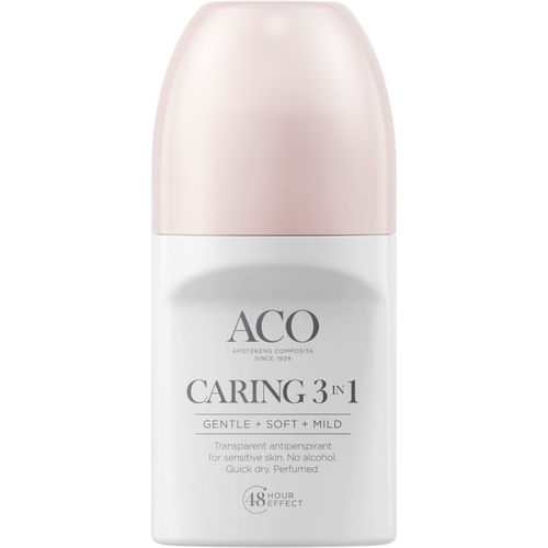 ACO DEO CARING 3-in-1 antiperspirantti 50 ml