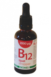 BIOMED B12 -tipat 2000 mikrog/ml 50 ml
