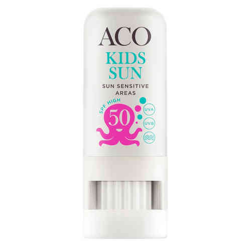 ACO SUN KIDS SUN SENSITIVE AREAS STICK SPF 50 aurinkosuojapuikko