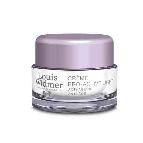 LOUIS WIDMER PRO-ACTIVE CREAM LIGHT yövoide 50 ml