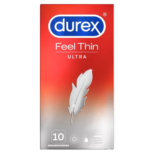 * * DUREX FEEL ULTRA THIN kondomi 10 kpl