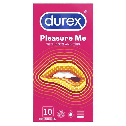 * * DUREX PLEASURE ME kondomi 10 kpl **