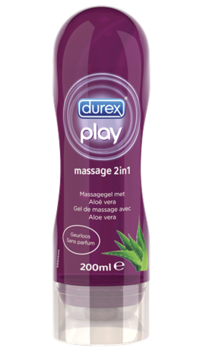 DUREX PLAY MASSAGE 2-in-1 liukuvoide/hierontaöljy 200 ml