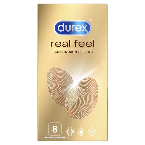 * * DUREX REAL FEEL kondomi 8 kpl