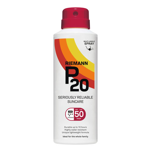 * P20 Continuous Spray aurinkosuojasuihke SPF 50 150 ml