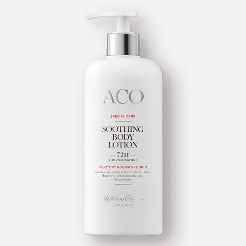 ACO SPECIAL CARE SOOTHING BODY LOTION vartalovoide 300 ml
