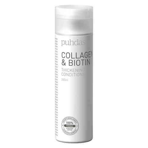 PUHDAS+ COLLAGEN and BIOTIN hoitoaine 200 ml