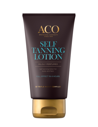 ACO SUN SELFTANNING LOTION itseruskettava voide 150 ml