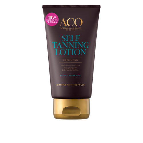 * * ACO SUN SELFTANNING LOTION itseruskettava voide 150 ml