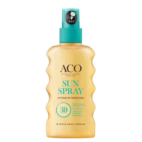ACO SUN SPRAY SPF 30 kosteuttava aurinkosuihke 175 ml