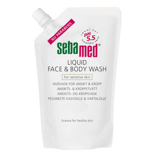 * * * SEBAMED LIQUID FACE and BODY pesuneste täyttöpussi 1000 ml