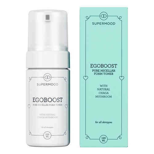 SUPERMOOD EGOBOOST PURE MICELLAR FOAM TONER kasvovesi 120 ml *