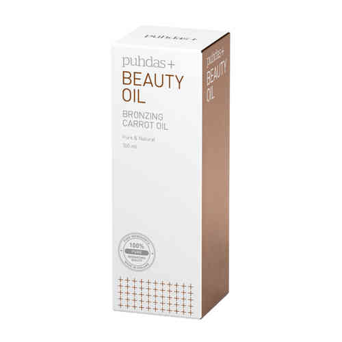 PUHDAS+ BEAUTY OIL BRONZING CARROT kauneusöljy 100 ml **