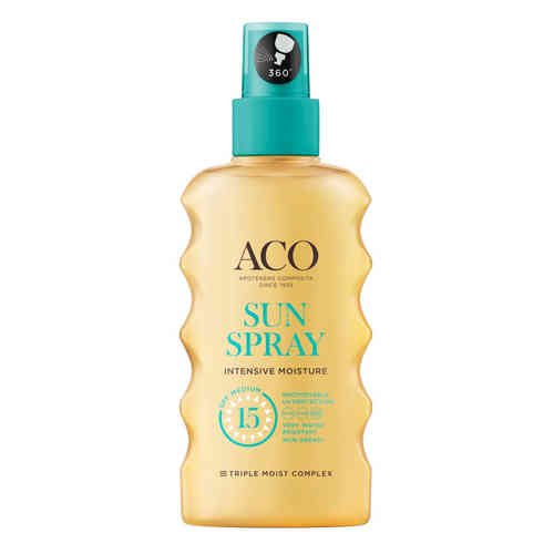 ACO SUN SPRAY SPF 15 kosteuttava aurinkosuihke 175 ml *
