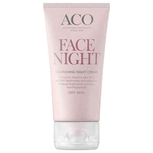 ACO FACE NOURISHING NIGHT CREAM yövoide 50 ml