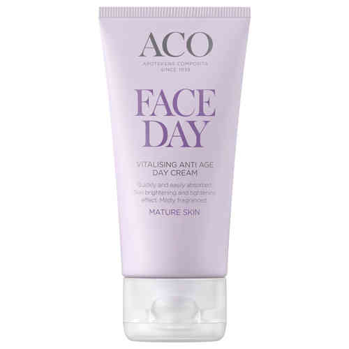 ACO FACE VITALISING ANTI AGE DAY CREAM päivävoide 50 ml