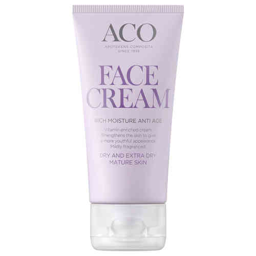ACO FACE RICH MOISTURE ANTI AGE CREAM hoitovoide 50 ml