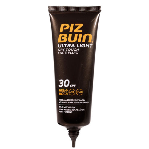 PIZ BUIN ULTRA LIGHT DRY TOUCH FACE FLUID SPF 30 aurinkosuojavoide kasvoille 50 ml