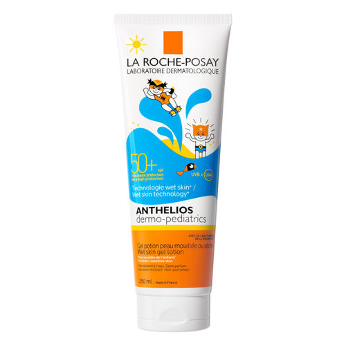 LA ROCHE-POSAY ANTHELIOS CHILDREN WET SKIN SPF 50+ aurinkovoide lapsille 250 ml