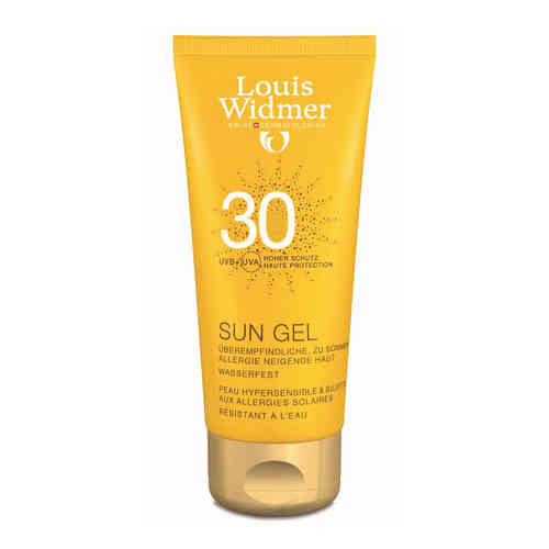 LOUIS WIDMER SUN GEL SPF 30 aurinkovoide 100 ml