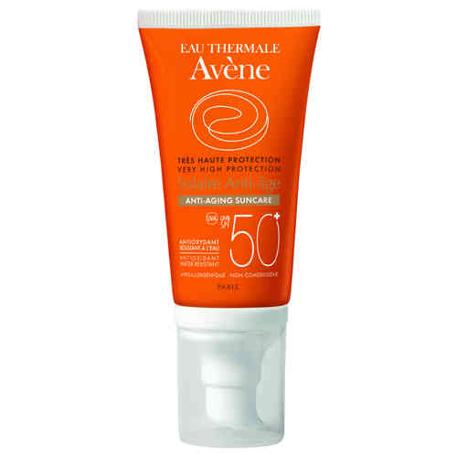 AVENE VERY HIGH PROTECTION ANTI-AGE SPF 50+ aurinkovoide kasvoille 50 ml