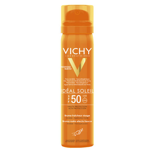 VICHY IDEAL SOLEIL FACE MIST SPF 50 aurinkosuihke kasvoille 75 ml