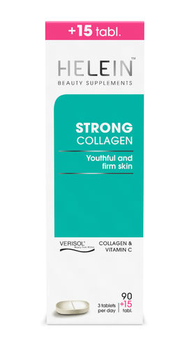 HELEIN STRONG COLLAGEN kollageeni 90 + 15 tabl