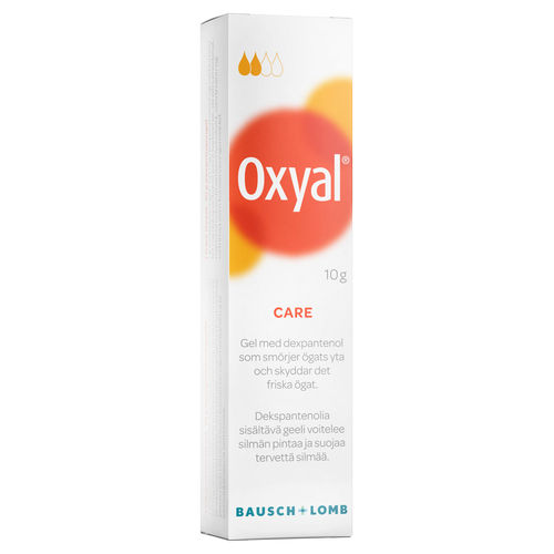 OXYAL CARE silmägeeli 10 g