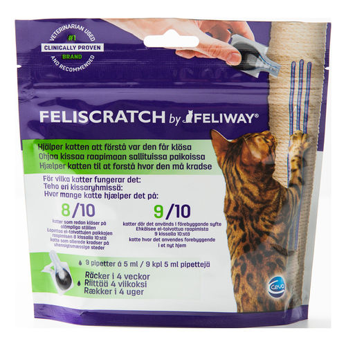 FELIWAY FELISCRATCH feromoniliuos kissoille 9 x 5 ml *