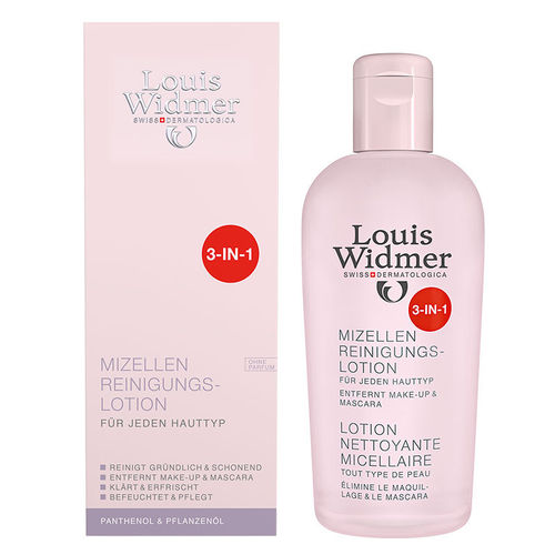 LOUIS WIDMER MICELLAR 3-in-1 CLEANSING LOTION puhdistusvesi 200 ml