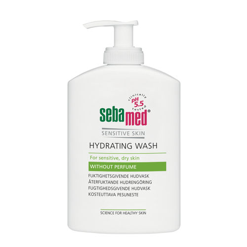 SEBAMED HYDRATING BODY WASH hajusteeton kosteuttava pesuneste 300 ml