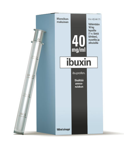 IBUXIN 40 mg/ml siirappi 100 ml