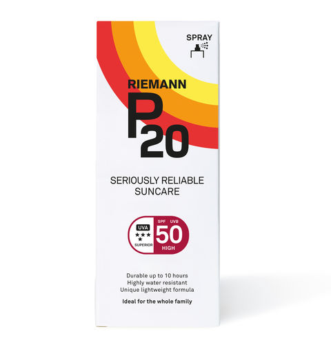 * P20 Spray aurinkosuojasuihke SPF 50 200 ml