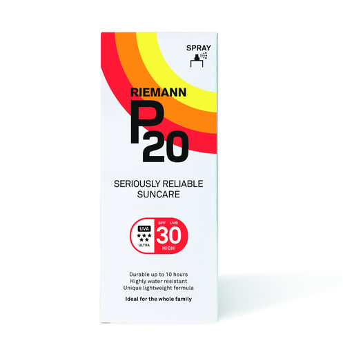 * P20 Spray aurinkosuojasuihke SPF 30 200 ml