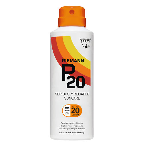 * * P20 Continuous Spray aurinkosuojasuihke SPF 20 150 ml